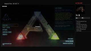 Ark Survival Evolved live stream