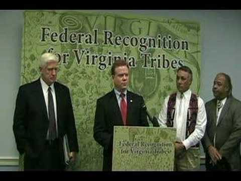 Va Tribes Federal Recognition