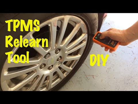 GM Tire Pressure TPMS Relearn Procedure after Rotation with TPMS Relearn Tool (All Chevy Cruze)