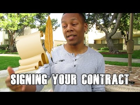 Watch Before Signing Your Military Contract