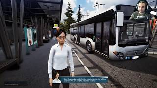 BUS SIMULATOR 18 #1 - AUTISTA DI AUTOBUS - GAMEPLAY ITA