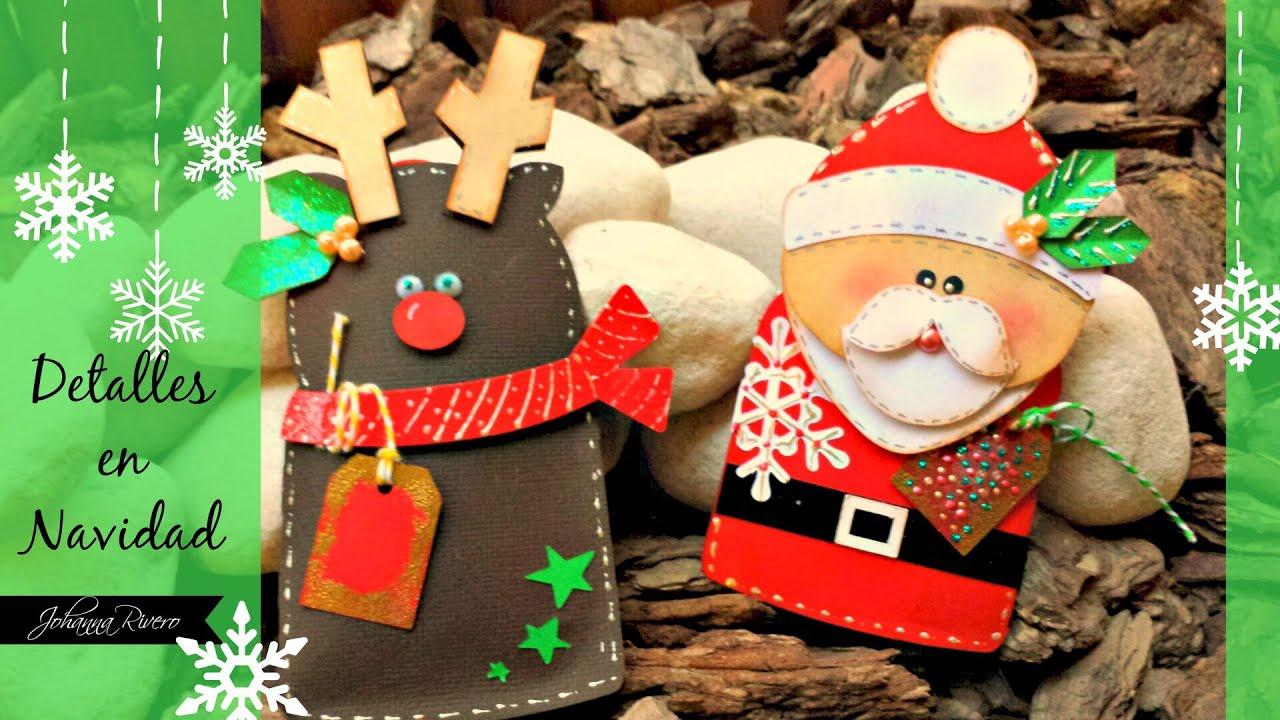 Detalles para regalar en navidad youtube for Detalles de navidad
