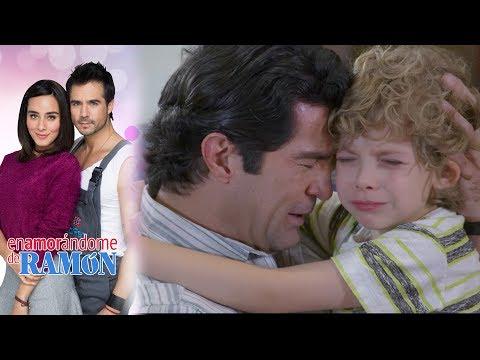 Dieguito sufre por la muerte de su mamá | Enamorándome de Ramón - Televisa