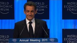 Davos Annual Meeting 2011 - Nicolas Sarkozy - Vision for the G20