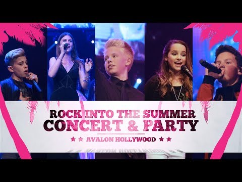 ROCK INTO SUMMER CONCERT: CARSON LUEDERS, HAYDEN SUMMERALL, ANNIE LEBLANC, BROOKE BUTLER & MORE