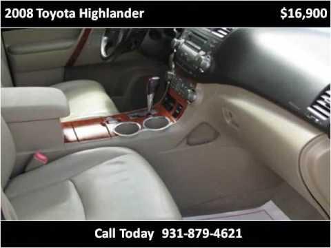 2008 Toyota Highlander Used Cars Jamestown TN