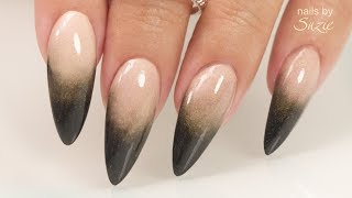 Perfecting the Black Acrylic Ombré