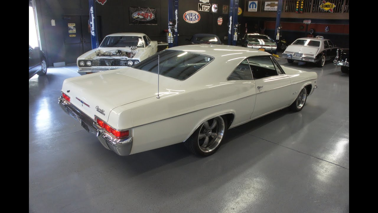 Uvanlig 1966 Chevy Impala SS For Sale~Very Original~Numbers Matching~Super UT-12