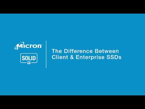The Difference Between Client & Enterprise SSDs