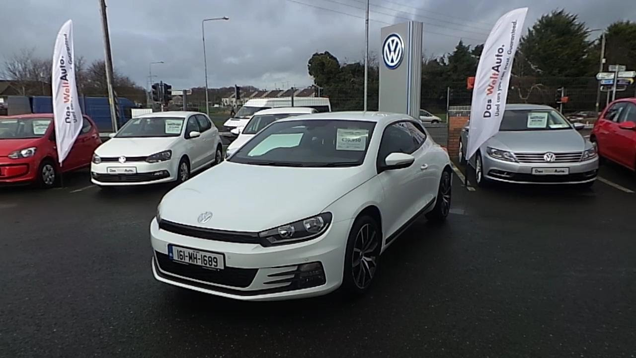 161MH1689  2016 Volkswagen Scirocco SPORT 20TDI M6F 150H 30950