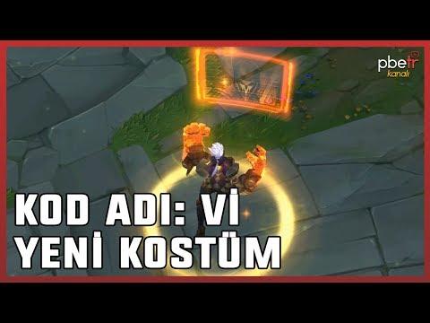 KOD ADI: Vi (Yeni Kostüm Tanıtımı) League Of Legends