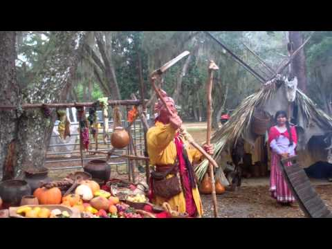 Native American Life - Farming Tools, Food and Tupperware