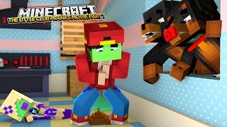 Minecraft MOVIE - THE ENTIRE LITTLE CLUB GET PRANKED w/DONUT THE DOG & BABY MAX - minecraft roleplay