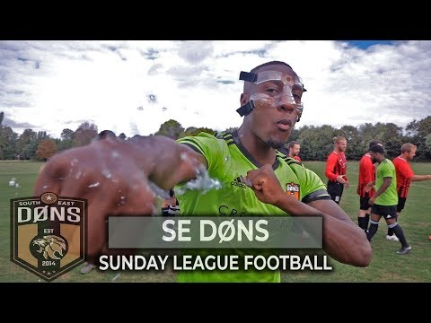 """SE DONS vs WOOLWICH: """"CUP GAME"""" - Sunday League Football"""