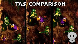 [TAS Comparison] Donkey Kong Country 3 Any% in 42:33.742