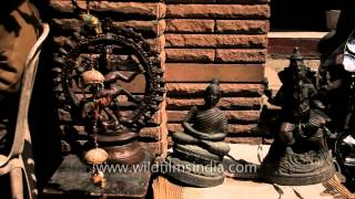 Terracotta And Wood Masterpieces On Sale, Udaipur, Rajasthan