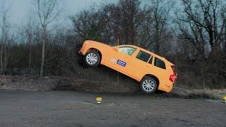 Как разбили XC90 - наш репортаж с краш-теста новой Volvo XC90