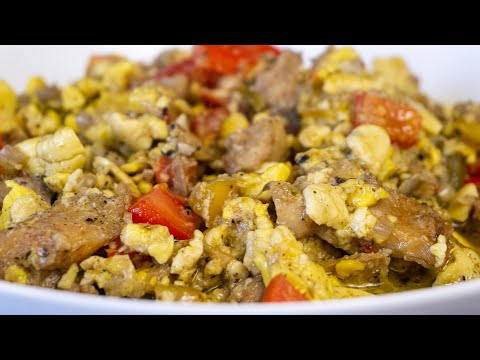 ACKEE & SALTFISH • JAMAICA NATIONAL DISH • Malaika Malz
