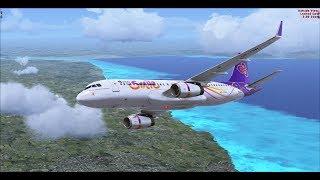 [X-Plane11] JDA320 Fly VTBS to WMKK [part2] 22 07 2018 thumbnail