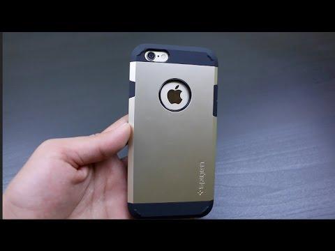 new styles d9770 eac1f Spigen iPhone 6 Tough Armor Case Review!
