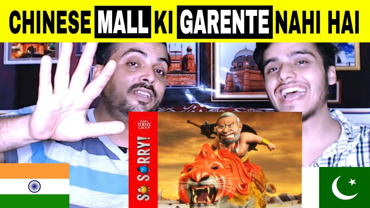 Pakistani Reaction on | So Sorry: Chinese Maal Ki Guarantee Nahi
