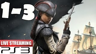 Assassin's Creed Liberation HD Walkthrough Part 1-3 Gameplay Let's Play Playthrough 1080p HD PS3