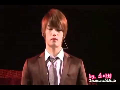 280309 DBSK Gwangju Hope Concert Teary-eyed Jaejoong ~Don't Say Goodbye~.MP4