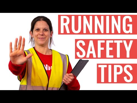 Stay SAFE While Running | Running Safety Tips