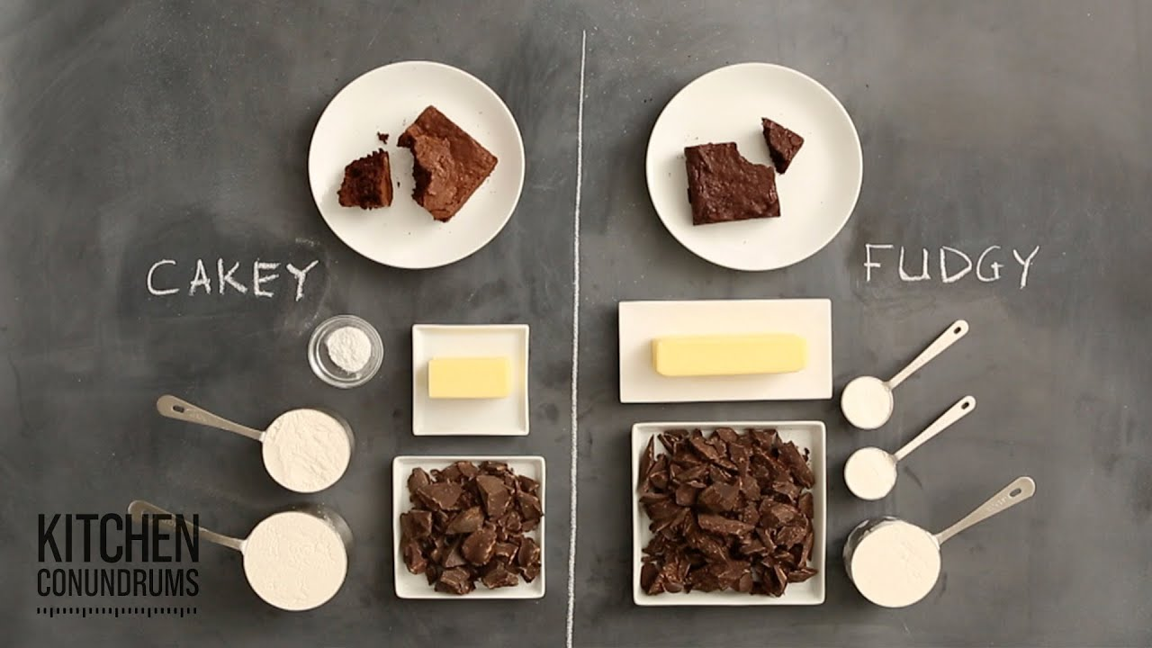 Difference In Recipe Between Cake Like Brownies
