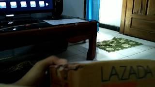 Unboxing lensa telezoom 8x lazada cod