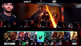 FNC vs MSF Highlights | LEC Spring 2021 W1D1 | Fnatic vs Misfits Gaming