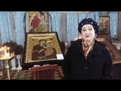 Народная артистка РСФСР Зинаида Кириенко в селе Мокрый Корь