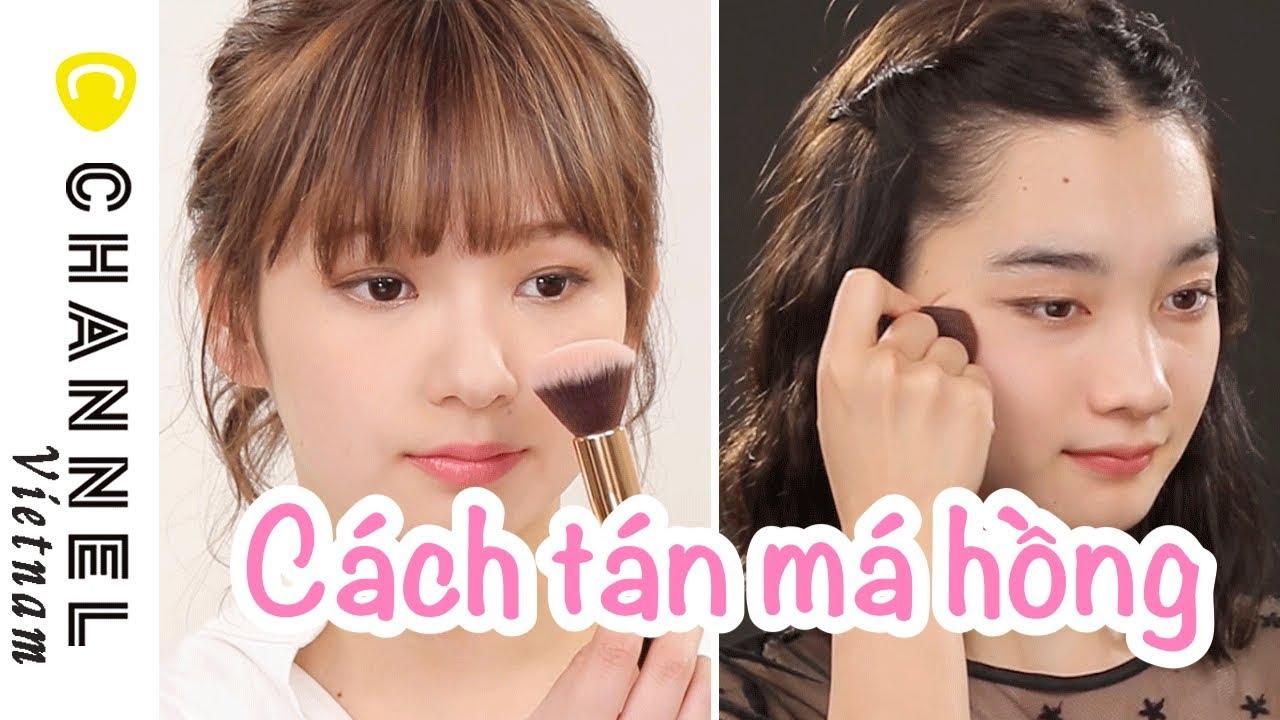Cách đánh các loại má hồng cho người mới tập tành makeup