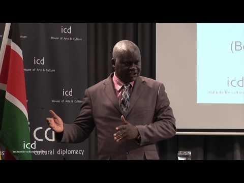 Oliver Otieno Konje, Commercial Attache for the Ambassador of Kenya to Germany