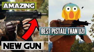 Scorpion new gun pubg mobile | New gun | Better then P18c | New machine pistal | Pubg mobile hindi |