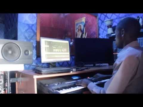 PastorProducer Titus Ssekawe in His Studio CLEAR AUDIO RECORDING STUDIO in Uganda Kampala,
