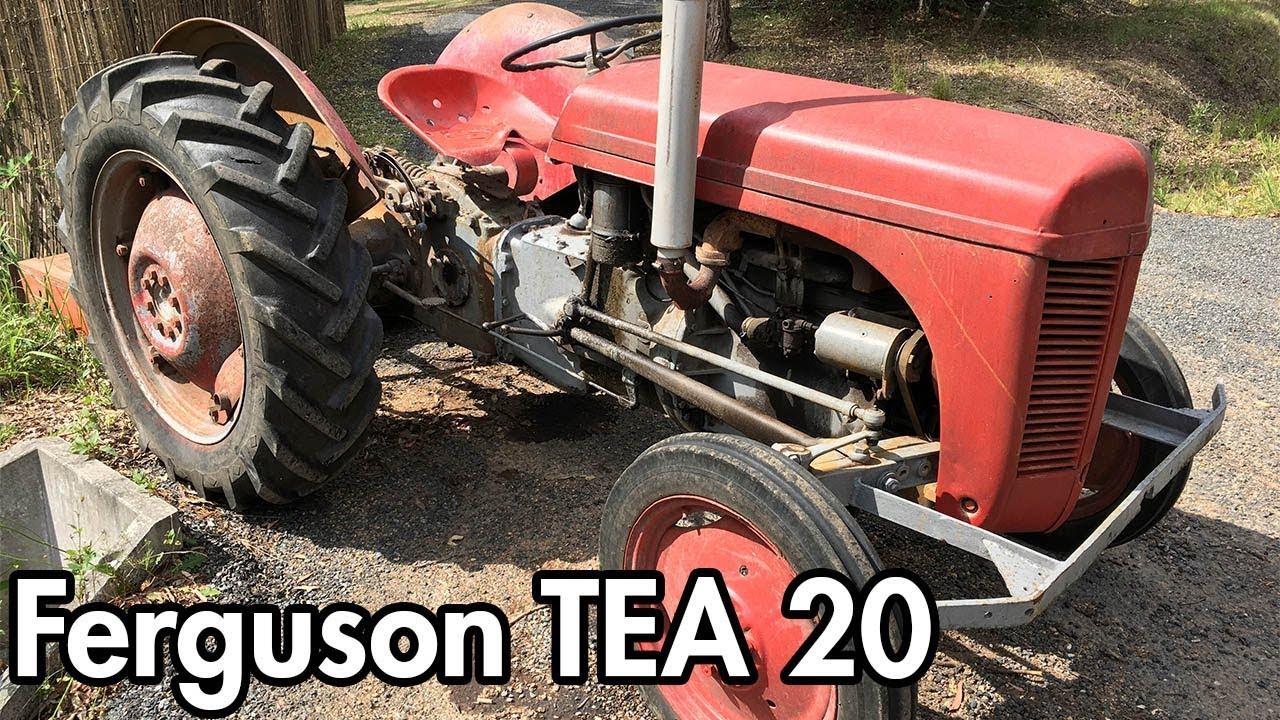 1954 Ferguson TEA-20 Performance Test