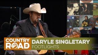 Daryle Singletary sings