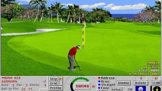 Links: Championship Course - Mauna Kea (Access Software) (MS-DOS) [1992]