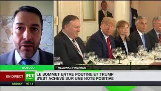 Rencontre Trump-Poutine : «La tenue même de ce sommet est un succès»