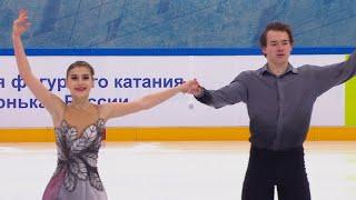 Анастасия Балабанова Алексей Святченко Произвольная программа Кубок России 2020 21 Пятый этап