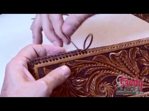 Learning Leathercraft with Jim Linnell – Lesson 13: Double Loop Lacing