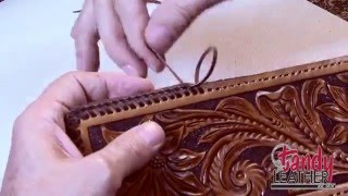 Download lagu Learning Leathercraft with Jim Linnell Lesson 13 Double Loop Lacing MP3