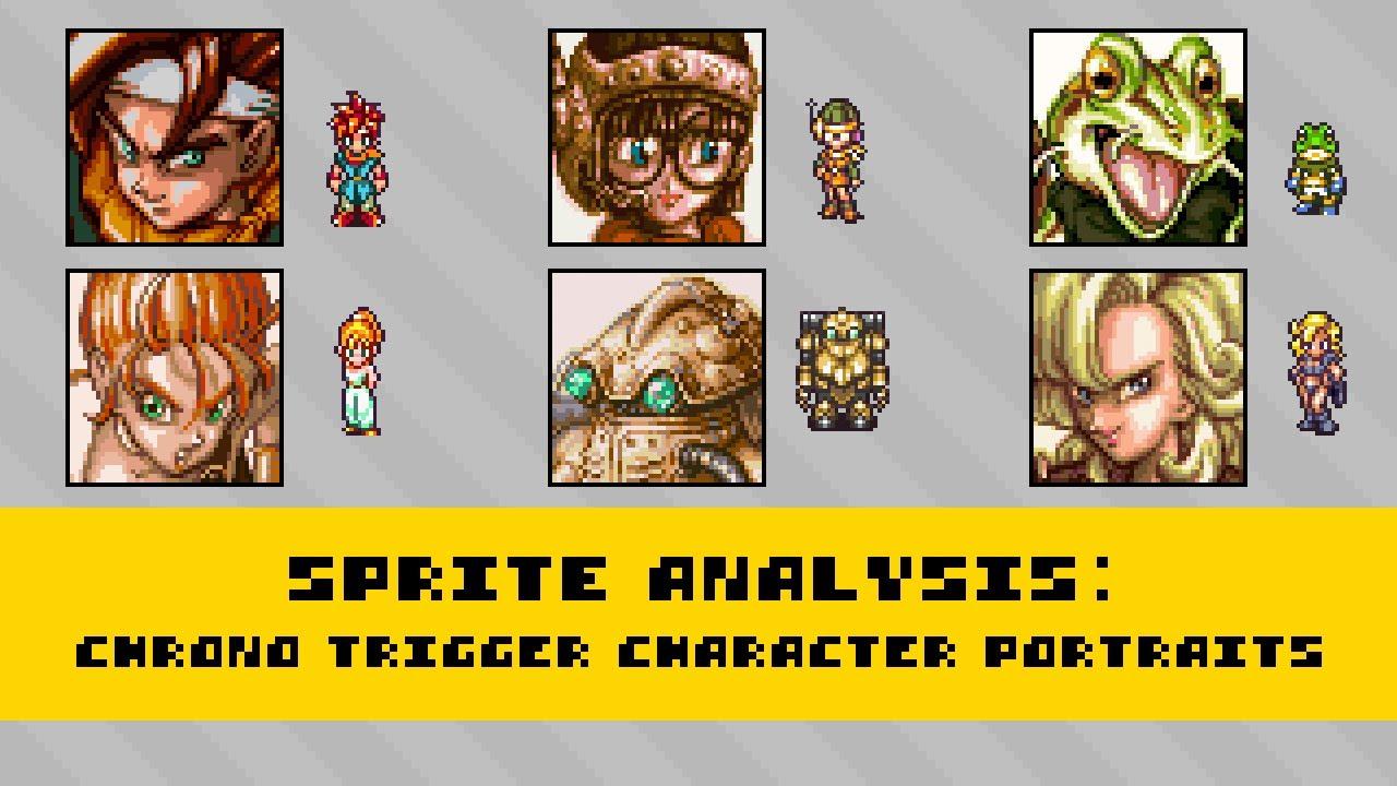 Sprite Analysis | Chrono Trigger Character Portraits