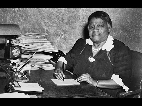 Hidden Figures: Mary McLeod Bethune