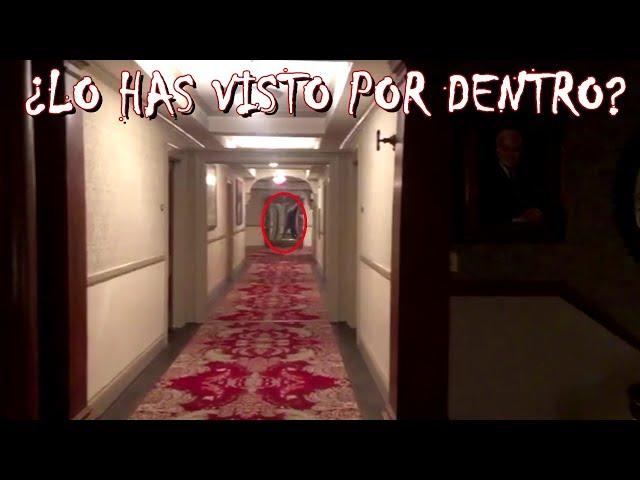 Mira el interior del hotel encantado en el que se inspiró Stephen King