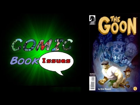 Comic Book Issues - FLASHBACK - The Goon # 1 - 3
