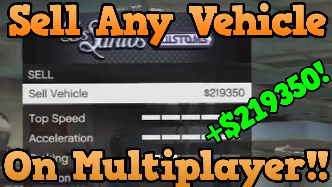 new method gta 5 online glitch sell any car at los santos customs sell cars worth over 50k. Black Bedroom Furniture Sets. Home Design Ideas