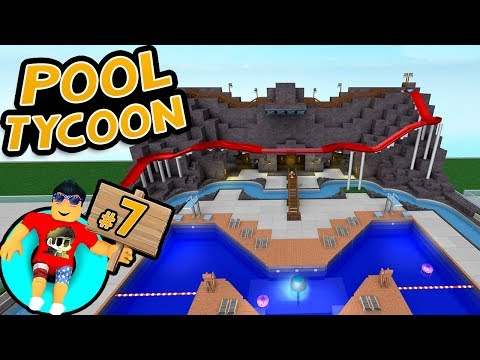 Pool Tycoon #7 - BUILDING A SLIDE   Roblox