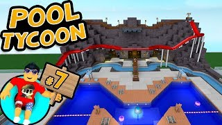 Pool Tycoon #7 - BUILDING A SLIDE | Roblox